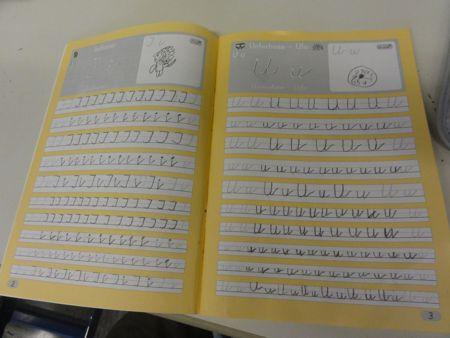 Schreibschrift Pinguin Klasse Designblog