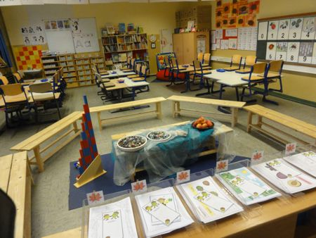 Im 1 schuljahr pinguin klasse designblog - Fensterdeko herbst grundschule ...